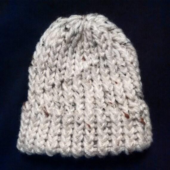 Loom Knitting Baby Hat S : Preemie newborn loom knit hat