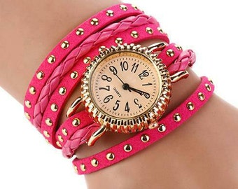 Punk style watch