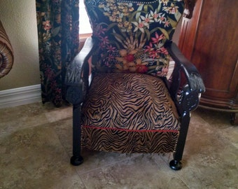 Items Similar To Updated Vintage Accent Chair W Kelly
