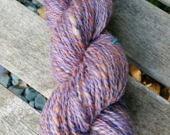 Handspun yarn: Martian Shadows. 90g DK