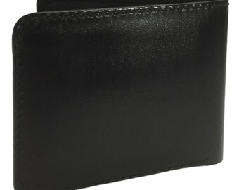 Bifold Horozontal Wallet - Leather
