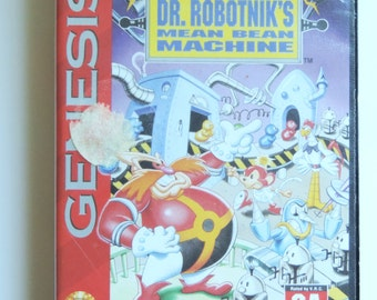 Dr. Robotnik's Mean Bean Machine for Sega Genesis