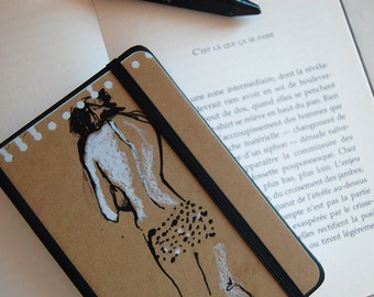 Naked woman notebook