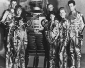 Lost In Space Cast June Lockhart Guy Williams Angela Cartwright Bill Mumy 8x10 Photograph