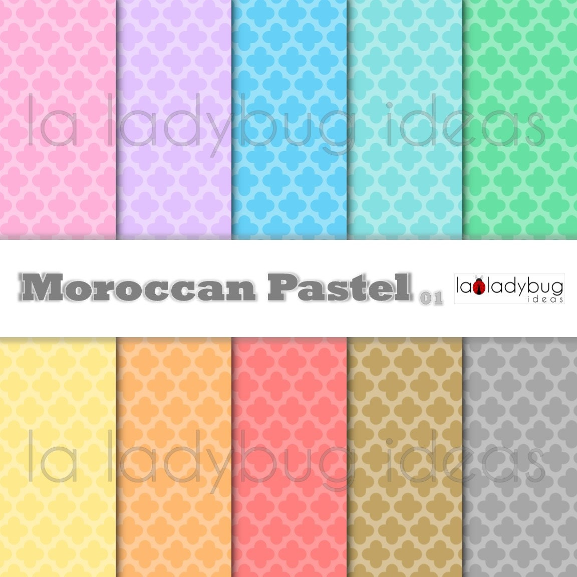 marokkanische tapete marokko pastell digitalem papier. Black Bedroom Furniture Sets. Home Design Ideas