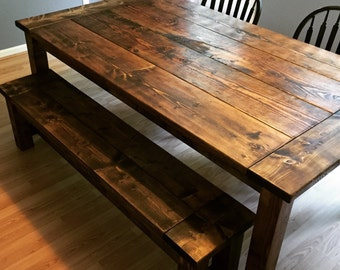 Farmhouse Dining Room Table - Built to Order