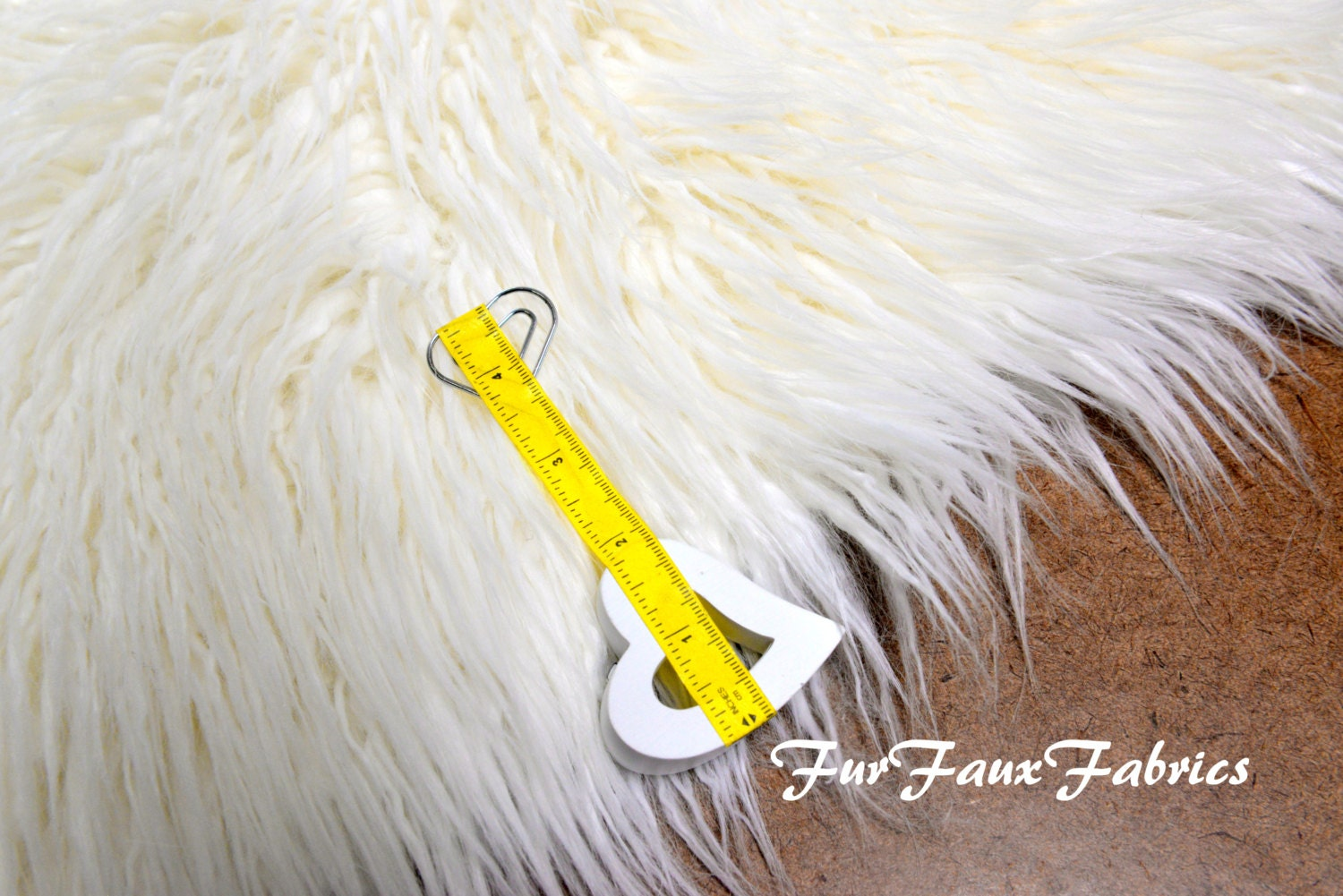 off white mongolian plush thick fur faux fabric by the yard. Black Bedroom Furniture Sets. Home Design Ideas