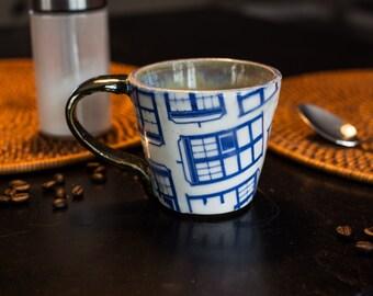 Ceramic TARDIS Mug
