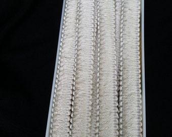 Upholstery trim ,Drapery Trim, bolt of trim, Wright's Trim, sewing supplies, curtain trim