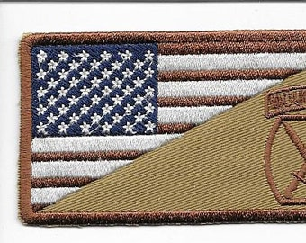 Afghanistan & Iraq United States Army 10th Mountain Division Shoulder Patch