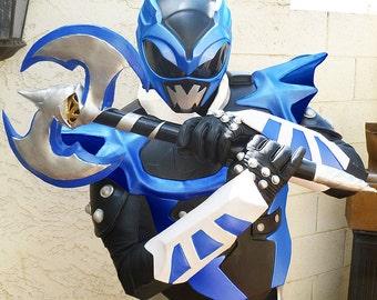 Custom PSYCHO BLUE AXE Prop Replica