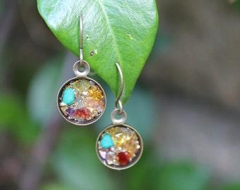 Orgone Jewelry - EMF Protection - Orgonite Chakra Healing Earrings