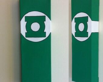 Green Lantern Canvas Painting