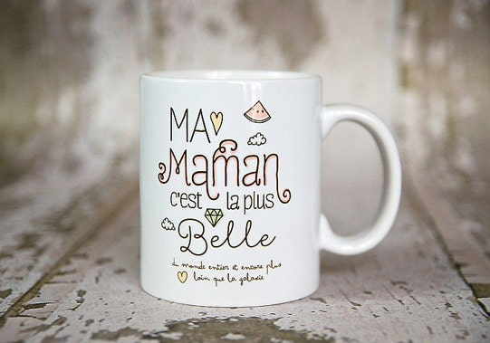 My beautiful mom mug by Crea-Bisontine