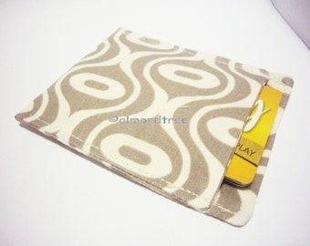 Sale gift for  men, sale, Geometric Grey, minimalist slim card wallet, id1360926, credit card case, moneystash, front pocket wallet