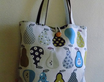 SALE - PEAR - Tote Bag