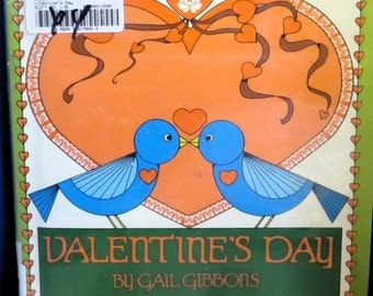 Valentine's Day - Gail Gibbons - 1986 - Vintage Kids Book