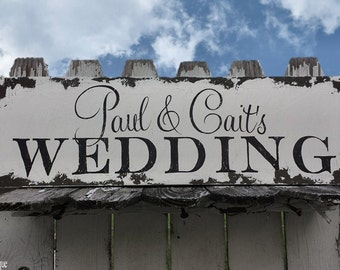 Custom Wedding Signs. Wedding Signs. Distressed Signs. Wedding Ceremony Sign. Aisle Signs. Flower Girl Sign. Ring Bearer Sign. Vintage Signs