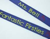BACK TO SCHOOL Personalized Lanyard, Teacher Lanyard, Nurse Lanyard, Teacher Gift