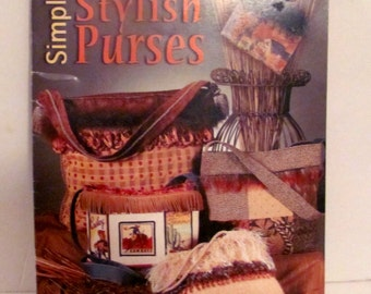 Simply Stylish Purses  Book
