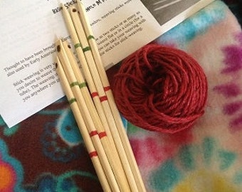 Fiddlesticks -Stick Weaving Kit