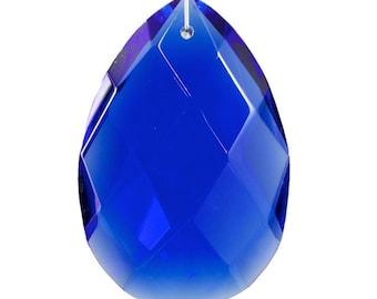 63mm Cobalt 9741 Chandelier Drop