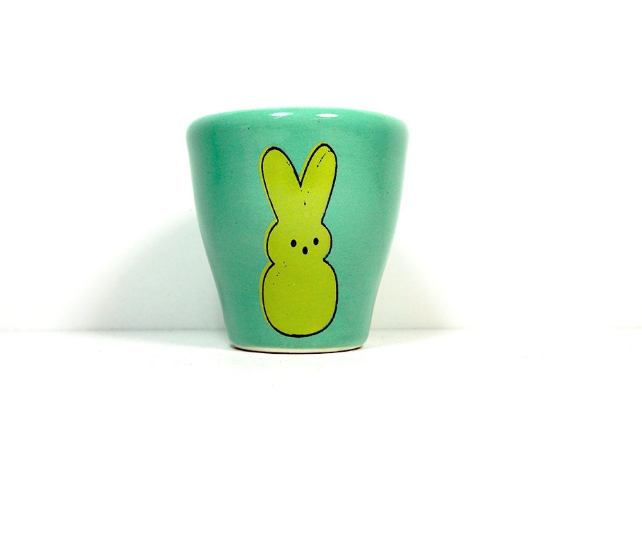 5oz tumbler marshmallow bunny - Made to Order / Pick Your Colour