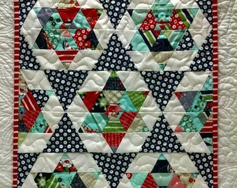 Starlight Miniature Quilt