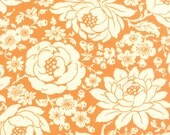 Hello Darling - Mum in Orange: sku 55110-16 cotton quilting fabric by Bonnie and Camille for Moda Fabrics - 1 yard
