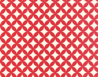 Hello Darling - Orange Peel in Red: sku 55111-31 cotton quilting fabric by Bonnie and Camille for Moda Fabrics - 1 yard