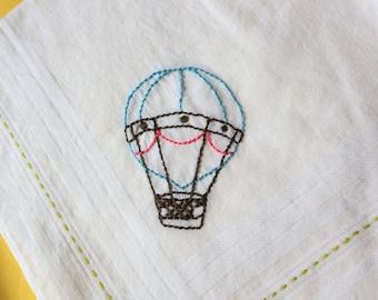Hot Air Balloon - Handkerchief