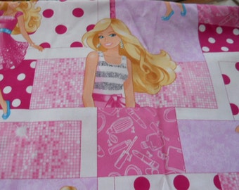 MadieBs Custom Pink with Polka Dot Toddler Crib Sheet set 3 piece personalized