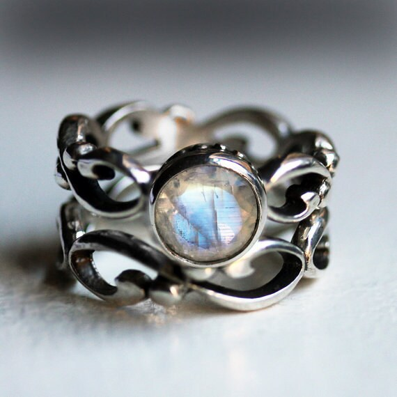Unique Engagement Wedding Rings Gemstone Jewelry By