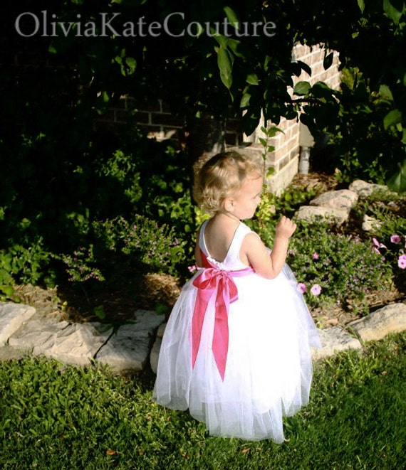 Flower Girl Dress BIG BOW