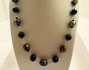 Black Fire Necklace