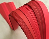 """3/4"""" Weaving Paper Strips~ Reds (100 strips)"""