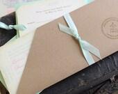 Travel Boarding Pass Wedding Invitation (Cabo San Lucas, Mexico) - Design Fee