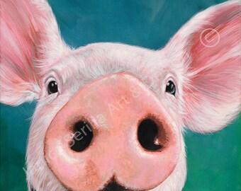 Artwork print Piggy Piggy