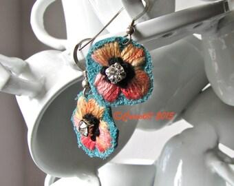 Flower Burst Earrings