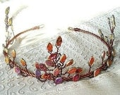 Elven Forest Autumn Circlet Crown