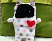 Idgee ~ The Bunny Bummlie ~ Stuffingless Dog Toy