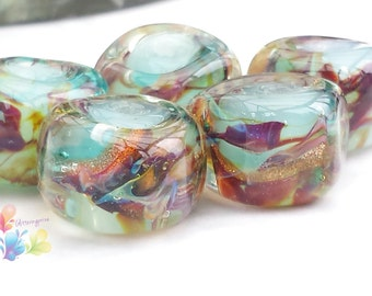 Lampwork Beads Water Nymph Glamour Rocks