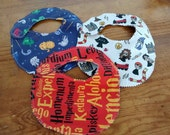 Baby Harry Potter Geek lined bibs perfect shower gift