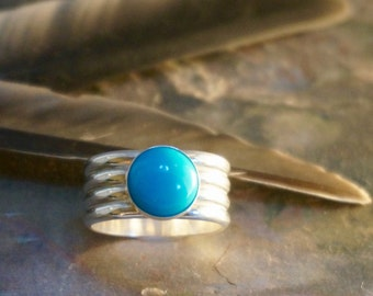 No. 04 - Enchanted: Sleeping Beauty Turquoise Ring