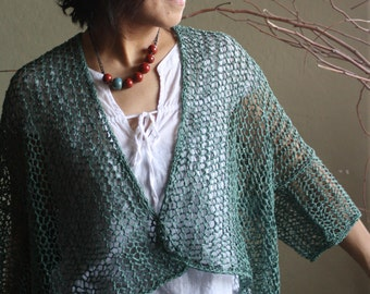 "PDF Pattern: ""Cloud Cover"" Cardigan - Knitting"