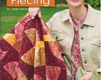 SALE - 10 20 30 Minutes To Learn Paper Piecing - By Jodie Davis - 8.00 Dollars