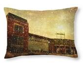 Frozen Tundra  - Lambeau Field - Green Bay Packers -  Throw Pillow