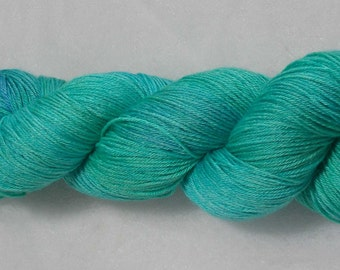 Soothing Waves merino and silk 4-ply