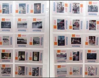 40 Vintage Photo Slides - Walt Disney World - 1974 - Contemporary Resort - Amateur Photography - 35mm slides