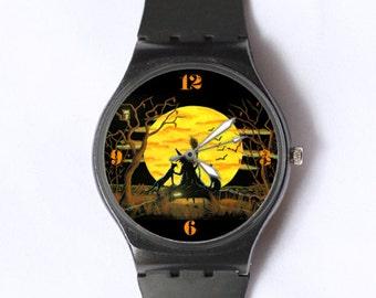 "Halloween watch ""Patience, Halloween Nears"""